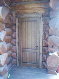 Дверь Портал теплая фото